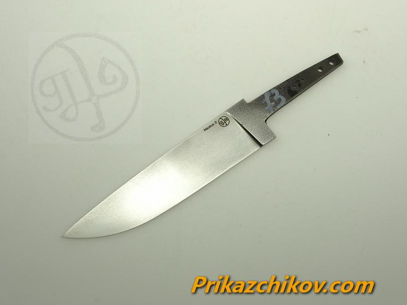 Клинок для ножа из стали Lohmann Niolox 2 (Lo-R 4197) N 73