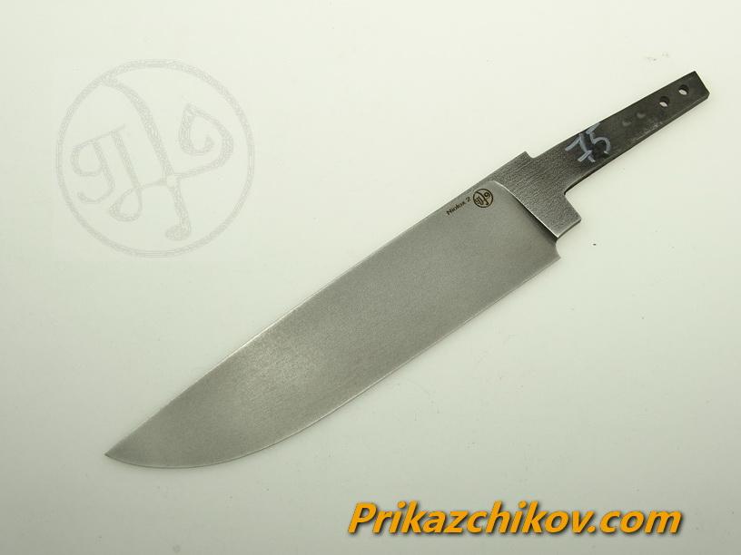 Клинок для ножа из стали Lohmann Niolox 2 (Lo-R 4197) N 75