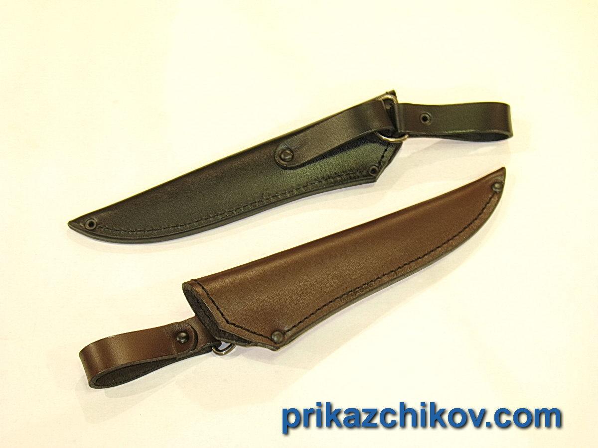Ножны с подвесом для ножа из кожи №4