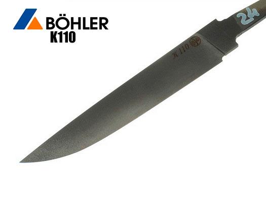 Клинки из стали BOHLER K110